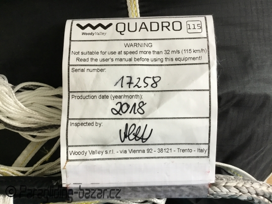 Woody Valley Quadro 115 light 1,23kg - 3