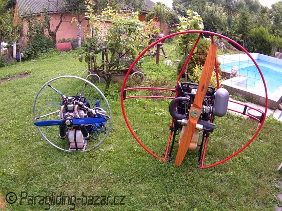 DLE 170 paramotor (Only 16,5 kg!) - 5